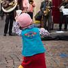 Tiny dancer enjoying the music