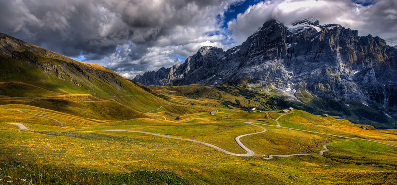 Grand Vista of Grindelwald