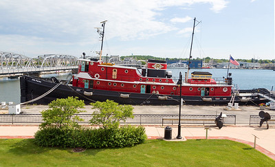 The Museum offers tours of this, the large John Purvis Tugboat