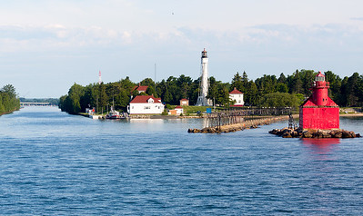 We arrive early Wed. AM at the Sturgeon Bay Canal.