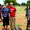Stephanie and I as soon as I arrived in Tonj, Sudan.