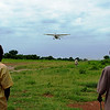 MAF flight leaving Tonj with the previous teachers and Stephanie.