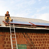 Solar panels for the submersible solar water pump.
