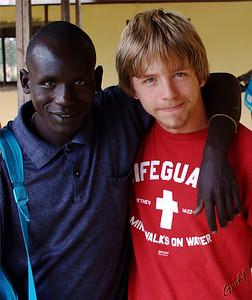 Santino (a pastor) and I.