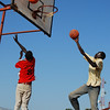 Basketball outreach in Tonj.