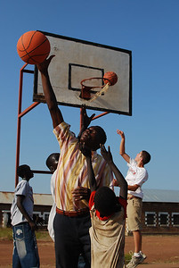 Basketball outreach in Tonj.