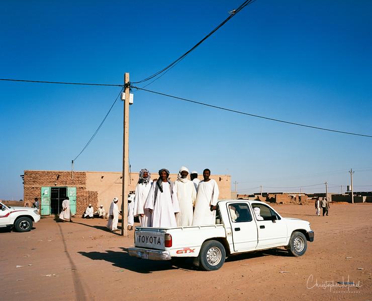 The Lyft of Sudan -- the pickup truck.