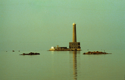 Sanganeb Reef Light in Sudan