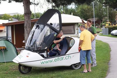 voiture tandem électrique - 4