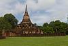 Walled temple at Si Satchanalai Historical Park