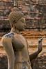 Buddha image at Sukhothai