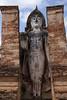Sukhothai Wat Maha That Buddha