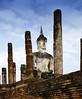 Sukhothai Wat Maha That Panorama