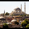 The view of the city is spectacular, isn't it? Istanbul as I'd imagined it...