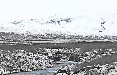 Konungsbrú (byggð 1907) yfir Brúará.