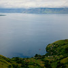 The tip of Samosir Island in Lake Toba.