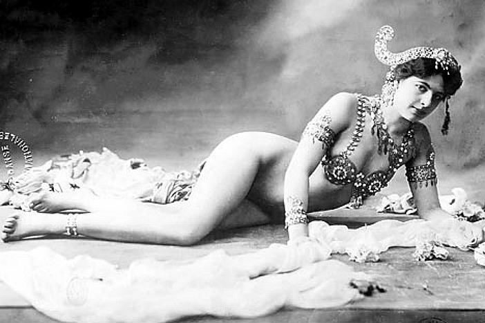 "When the marriage collapsed, she fled to Paris and became ""Mata Hari."""