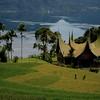 Lake Maninjau, Western Sumatra.