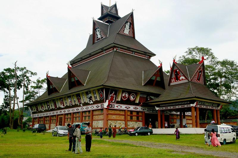 Christian church in Bukit Lawang, built in 1896.