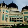 Medan's Royal Mosque.