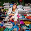 Smiling Veggie Vendor