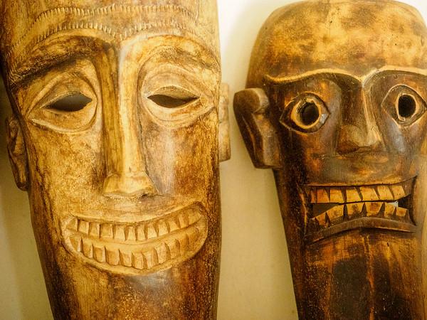 Native Sumatran Masks