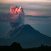 Morning Sinabung Eruption
