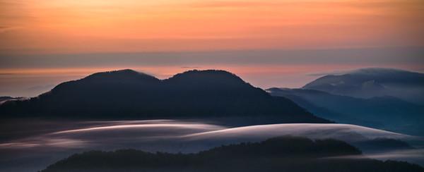 Soft Sibayak Sunrise