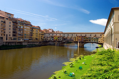 The Ponte Vecchio in Florence.
