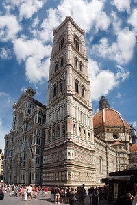 The Duomo, commissioned in 1296 and finally completed in 1436.
