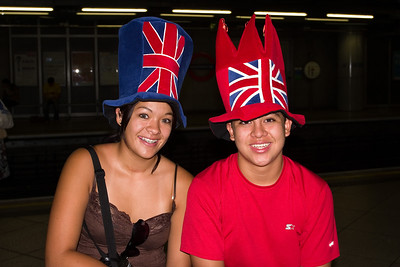 Typical British hats... yeah, right!