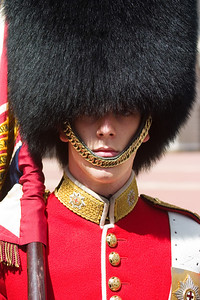 Close up of a guard.