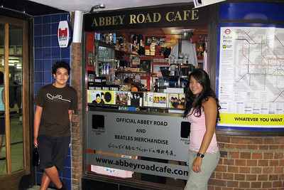 The Abbey Road gift shop.