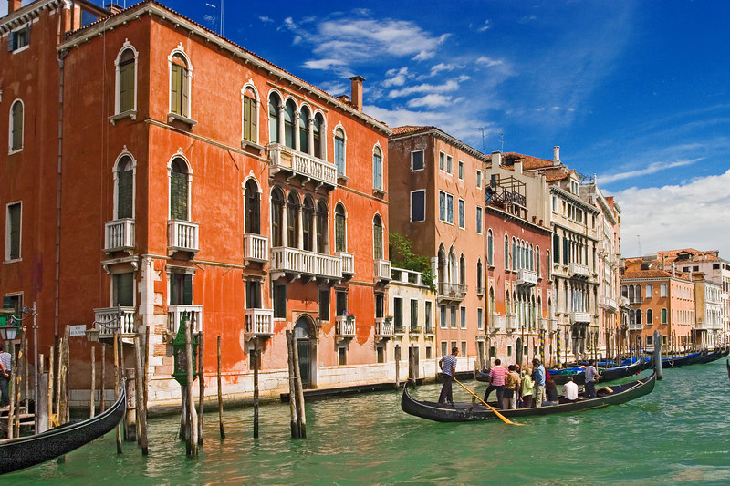 On the grand canal.
