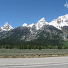 We were able to see some climbers on the top of Grand Teton from the visitor center with a high powered scope.