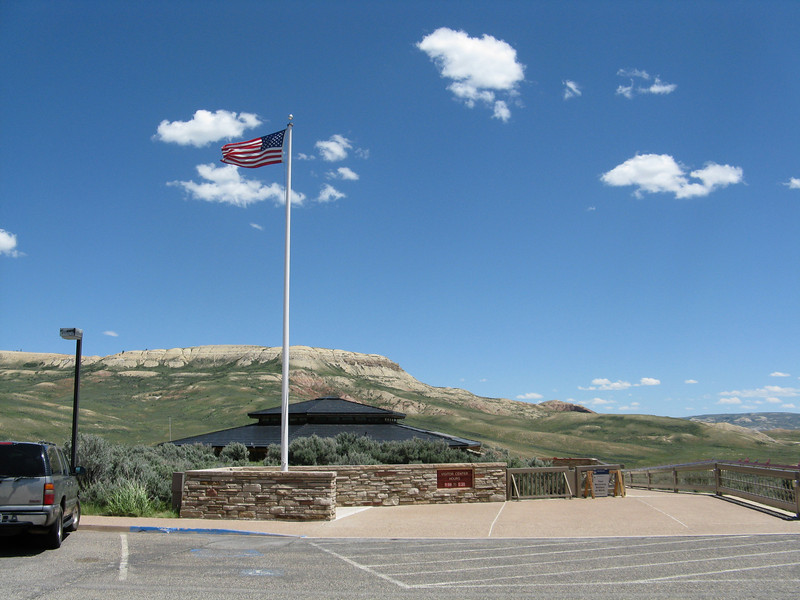 Fossil Butte National Monument in Wyoming.