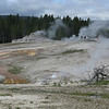 Good view of the scale of the giant geyser.