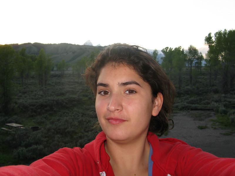 Marissa's self portrait.