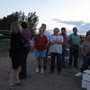 Family & friends enjoying a beautiful night in Idaho.