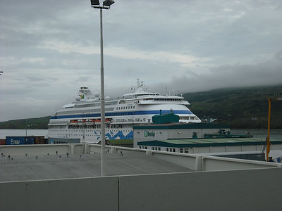 Another ship in port