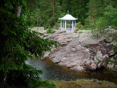 The Hut be the Rapids. Imatra