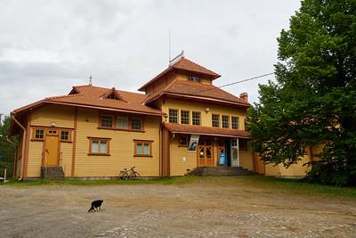 Punkaharju Railway Station