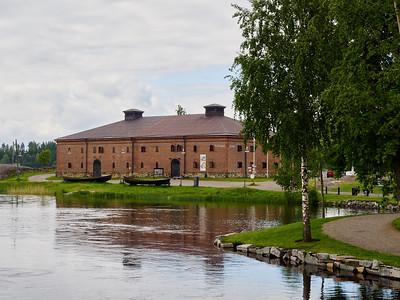 Riihisaari museo. Savonlinna