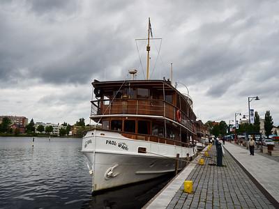 MS Paul Wahl. Lake Saimaa. Savonlinna