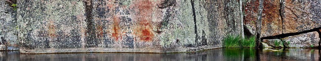 Verla Rock Paintings