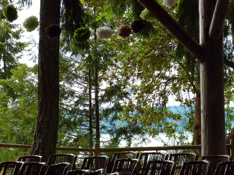 Pretty much the most beautiful ceremony site ever.