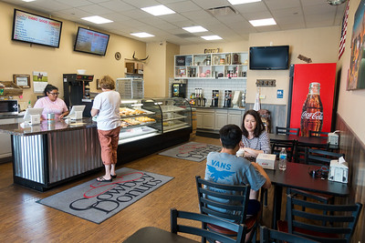 Jul 24 Checking out Cowboy Donuts in Rock Springs, WY