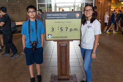 Jul 27 Old Faithful visitor education center