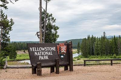 Jul 27 Near Yellowstone south entrance