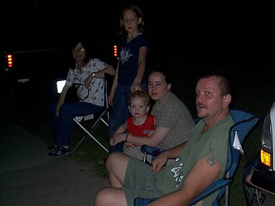 Fourth of July <br /> We watched fire works near a lake just outside of Cleveland